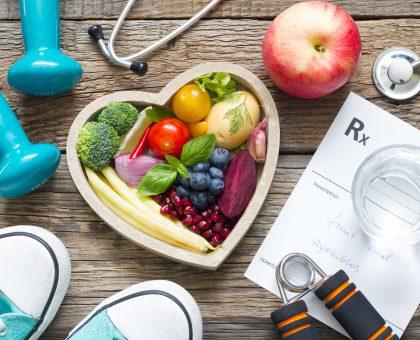 In kardiovaskulären Angelegenheiten heisst es: <br />  Vorbeugung ist GESUNDHEIT